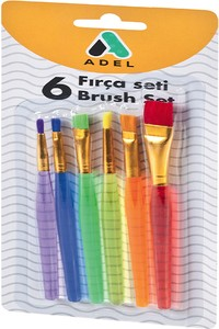 Adel Painting Brush Set - 6 Pcs