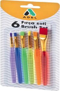 Adel Painting Brush Set - 6 Pcs