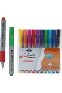 Masis Fiber Tip Pen 10 Color - S5304-10C
