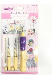 Punch Needle Embroidery Adjustable Punch Needle Kit