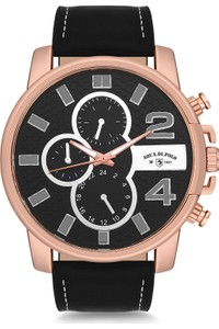 Aqua Di Polo 1987 Leather Men's Watch APSV2-A1254-ED632