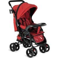 Babyhope 617 Çift Yönlü Bebek Arabası - Kırmızı