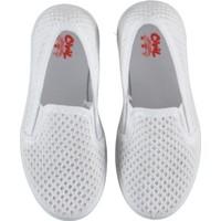 Civil Kız Çocuk Keten Ayakkabı 26-30 Numara Beyaz