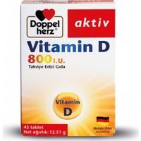 Doppel Herz Aktiv Vitamin D 45 Tablet