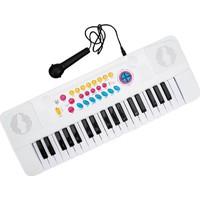Sunman 37 Tuşlu Mikrofonlu Eccho Oyuncak Org Beyaz