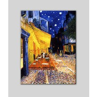 Decobritish Vincent Van Gogh Gece Kahvesi Kanvas Tablo