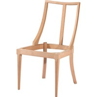Obuts Home 4612 Dünya Sandalye Retro Cilasız Ahşap Ham