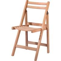 Obuts Home 4581 Katlanır Sandalye Cilasız Ahşap Ham