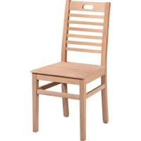 Obuts Home 4602 Tutmalı Izgaralı Sandalye Cilasız Ahşap Ham