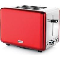 Schafer Küchenchefs Ekmek Kızartma Makinesi Kırmızı