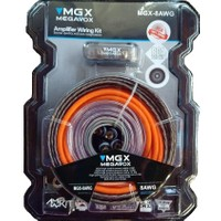 Megavox 8 Ga Kalın-Kaliteli Ve Profesyonel Full Set Kablosu-