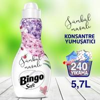 Bingo Soft Konsantre Çamaşır Yumuşatıcısı Sümbül Masalı 1440 ml Ekonomi Paketi 4'lü