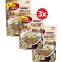 Bizim Mutfak Superfoods Bakliyatlı Çorbalar - Karabuğday Çorbası Karışımı 3'lü Paket