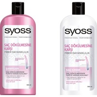 Syoss Saç Dökülmesine Karşı Şampuan 550 ml +Syoss Saç Dökülmesine Karşı Saç Kremi 550 ml