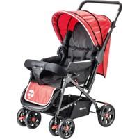 Baby Care Practico Çift Yönlü Bebek Arabası Kırmızı