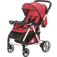 Baby Care Maxi Çift Yönlü Bebek Arabası Kırmızı
