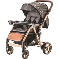 Baby Care Maxi Çift Yönlü Bebek Arabası Gold