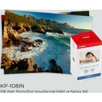 Canon KP-108IN Kartuş Fotoğraf Kağıt Seti