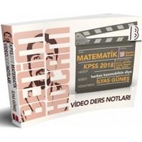 Benim Hocam Yayınları 2018 KPSS Matematik Video Ders Notları