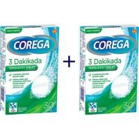 Corega Diş Protezi Temizleyici Tablet 30'lu - 2 Adet