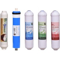 Aquabi̇r Su Arıtma Filtre Seti Inline Kapalı Kasa Su Arıtma Filtresi