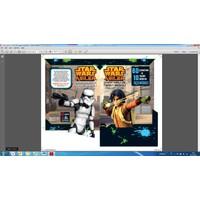 Disney Starwars Asiler: Çıkartmalı Ve Tişört Baskılı Faaliyet Kitabı-Kolektif