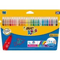 Bic Kids Couleur (Ultra Yıkanabilir) Keçeli Boya Kalemi 24'Lü Kutu