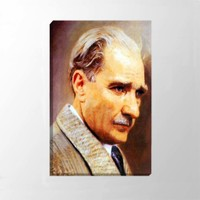 Piri Sanat Mareşal Atatürk Kanv+A11:Y17as Tablo