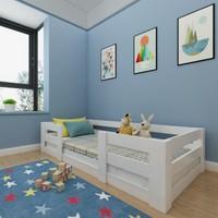 Herşeycik Montessori Karyola Beyaz Y13