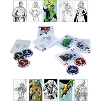 Dc Collectibles The Justice League Starter Poker Set