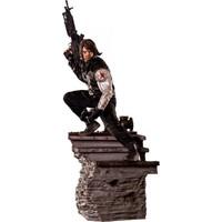 Iron Studios Captain America Civil War Winter Soldier Legacy Statue