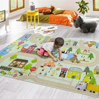 Mecra Home Style 1003 Çocuk Halısı Oyun Halısı 120 X 180 Cm