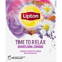 Lipton Time To Relax - Rahatlama Zamanı 22.5 gr Bardak Poşet Bitki Ve Meyve Çayı