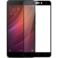 Happyshop Xiaomi Redmi 5A Full Kaplayan Fiber Nano Ekran Koruyucu Siyah