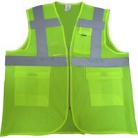Mühendis Tipi Cepli İkaz Yeleği Renk CE Belgeli XL