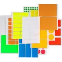 Platin Okul-Ofis Etiketi 8,5 X 19,33 Mm 10 Lu Pe-133 (1 Paket 10 Adet)