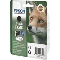 Epson T1281-C13T12814020 Siyah Kartuş