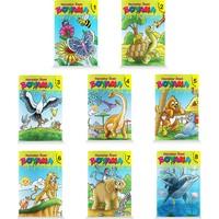 Okul Oncesi Ve 1 Sinif Hayvanlar Alemi Boyama 8 Kitap Fiyati
