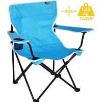 FUNKY CHAIRS Mavi Katlanabilir Kamp Sandalyesi