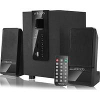Mikado Md-M100Bt 2+1 Siyah Usb+Sd+Fm Destekli Multimedia Bluetooth Speaker