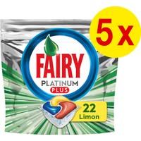 Fairy Platinum Plus 110 Yıkama Bulaşık Makinesi Deterjanı Kapsülü