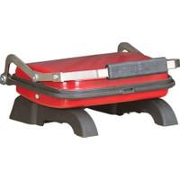 Tuğra Döküm Ev Tipi Tost Makinesi - Kırmızı