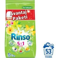 Rinsomatik Toz Deterjan 8 kg Kır Bahçesi