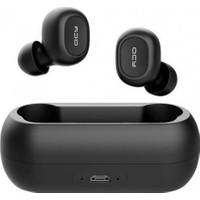 QCY T1C Çift Mikrofonlu Şarj Edilebilir Bluetooth V5.0 Siyah Telefon Kulaklığı