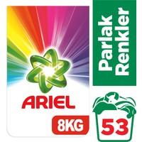 Ariel 8 kg Toz Çamaşır Deterjanı Parlak Renkler