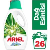 Ariel 26 Yıkama Sıvı Çamaşır Deterjanı Dağ Esintisi Beyazlar ve Renkliler İçin