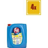 Pril Sıvı Bulaşık Deterjanı Limon 4 lt x 4