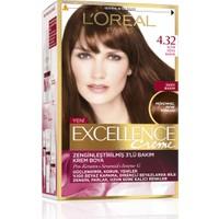 L'Oréal Paris Excellence Creme Saç Boyası 4.32 Altın Koyu Kahve