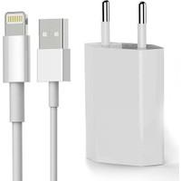 Syronix iPhone Şarj 5 6 6s 7 7s 8 X Plus Uyumlu Şarj Aleti Cihazı Kablo Set