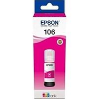 Epson 106 T00R340 Ecotank Mor Kartuş Ink Bottle